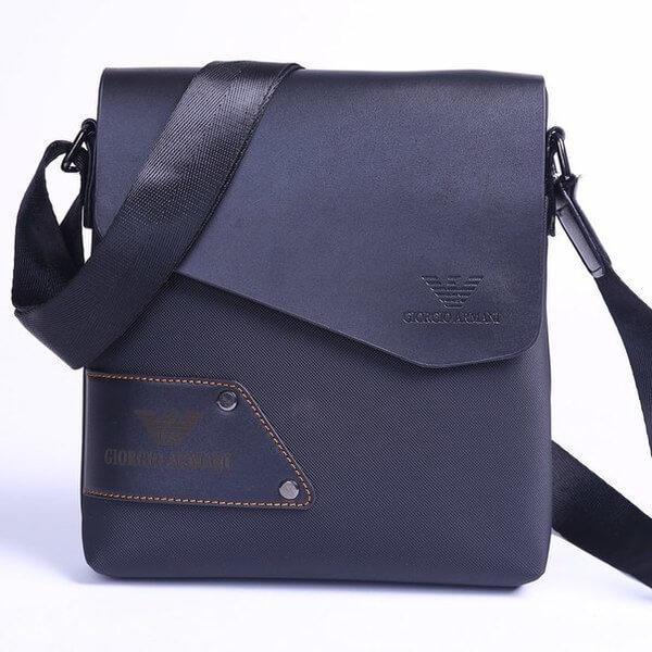 2f5b3900b93b Мужская сумка через плечо Giorgio Armani self - 3 вида оптом от ...