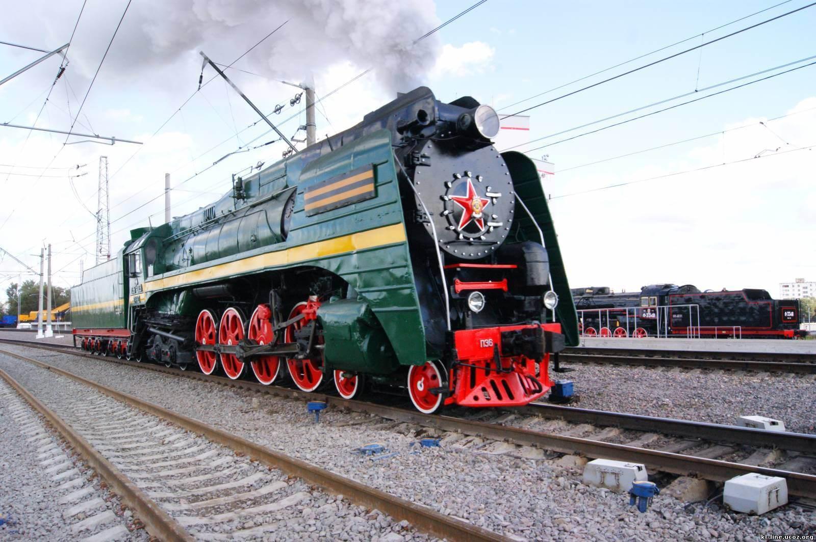 Картинка с локомотивом
