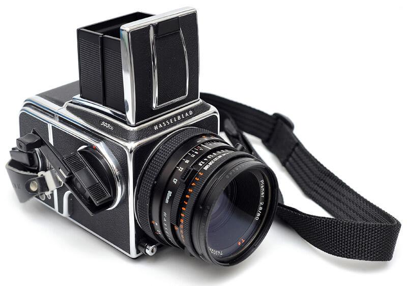 Современные широкопленочные фотокамеры