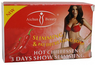 Fast Acting Hot Chili Slimming Soap